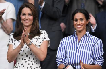 Cambridgen herttuatar Catherine ja Sussexin herttuatar Meghan