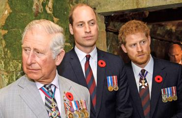 Walesin prinssi Charles, prinssit William ja Harry
