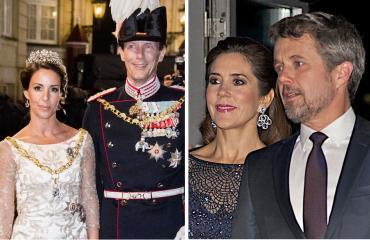 Tanskan prinssipari Joachim ja Marie sekä kruununprinssipari Frederik ja Mary