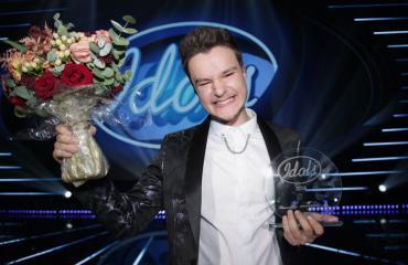 Idols-voittaja Patrik Blomberg
