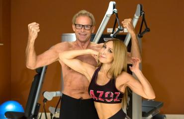 Toivo Sukari ja Nadja treenaavat ahkerasti.