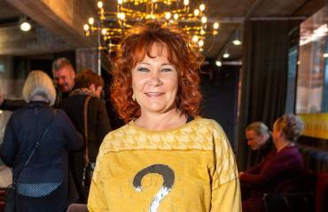 Vicky Rosti täyttää 60 vuotta.