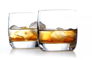 Kallis joulukalenteri sisältää viskiä.