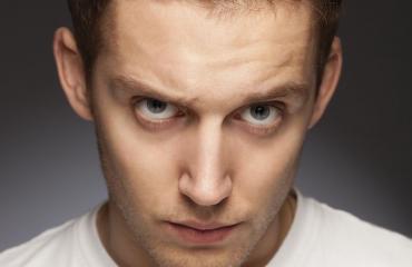 Silmät paljastavat psykopaatin.