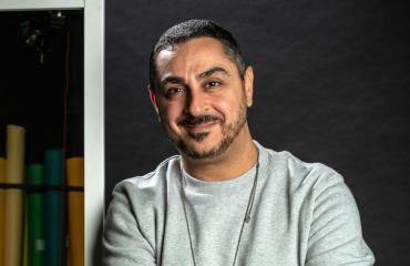 Arman Alizad kertoo uransa alusta.
