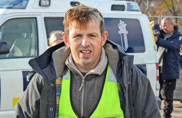 Timo Lavikainen nähdään Roba-sarjassa.