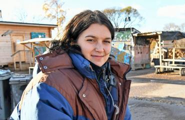 Momosa Willamo nähdään Roba-sarjassa.
