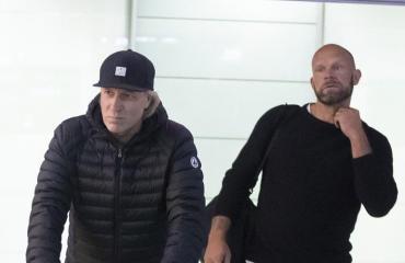 Jere Karalahti tulistui lentokentällä.