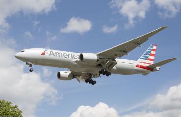 American Airlinesin työntekijästä tuli kuuluisa.