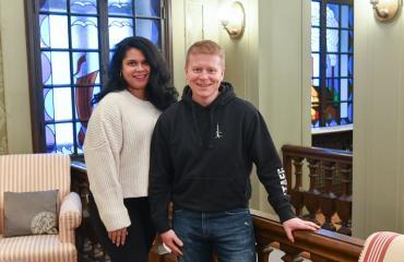 Sampo ja Minttu Kaulanen avioituivat tv-ohjelmassa.