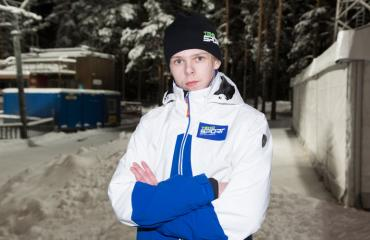 Mico Ahonen venähti 186-senttiseksi.