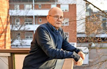 Isäksi tuomittu Raimo Kupiainen, 74, sai oikeutta vasta dna-testistä.