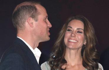 Prinssipari William ja Catherine Pohjois-Irlannissa Belfastissa.