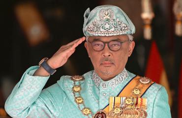 Malesian kuningas on aviokriisissä.