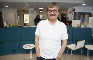 """Antero Mertaranta selostaa Gladiaattorien paluun yhdessä Mika """"Mohikaani"""" Ounaskarin kanssa."""