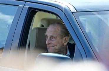 Prinssi Philip aiheutti liikenteessä ongelmia.