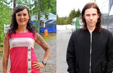 Mira Luoti ja Mika Haapasalo hankkivat piilopirtin.