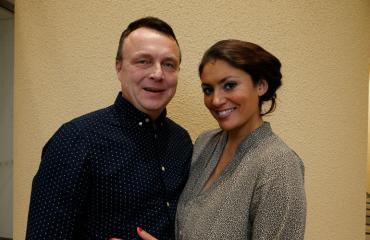 Jasmin Mäntylä on avoliitossa Jarmo-rakkaansa kanssa.