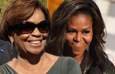 Michelle Obama ja MArian Robinson