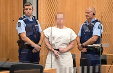 Brendan Tarrant on epäiltynä terrori-iskuista.