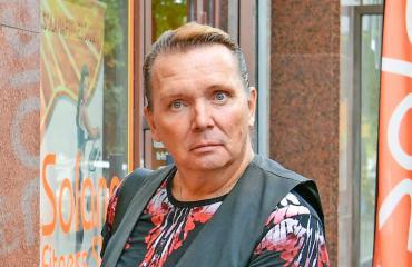 Mikko Rasila esittelee Marc-rakkaansa.