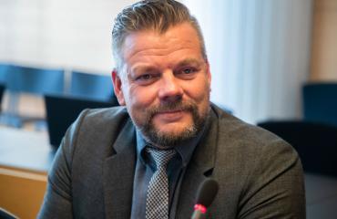 Jari Sillanpää risteli Siimin kanssa.