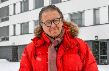 Joni Heinonen tapasi Ilpo Larhan ja panttivangit.