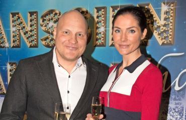 Kalle ja Riina-Maija Palander muuttivat Vantaalle.