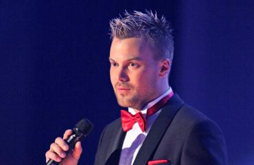 Heikki Koskelo edusti Clara-rakkaansa kanssa.