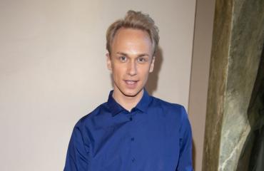 Christoffer Strandberg asuu Siuntiossa.