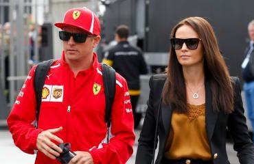 Kimi ja Minttu Räikkönen tapasivat kesällä 2013.