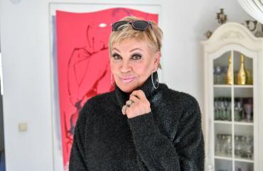Hannele Lauri palasi teatterin kulisseihin.