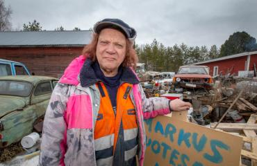 Markus Kuotesaho pyrkii kansanedustajaksi.