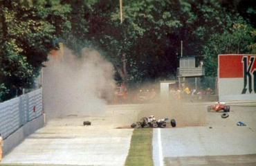 Sennan onnettomuus vuonna 1994.