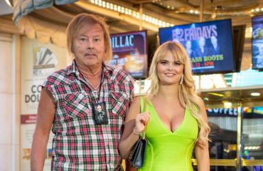 Danny ja Erika lomailivat Las Vegasissa.