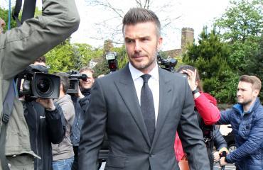 David Beckham sai ajokieltoa