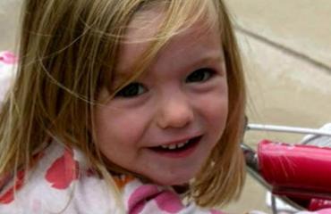 Madeleine McCann katosi vuonna 2007.