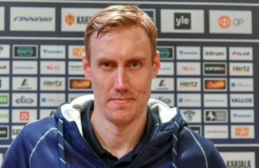 Marko Anttila vietti perhepäivää.