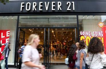 Forever 21 suututti asiakkaat.
