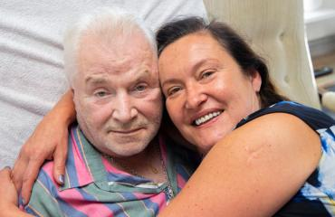 Juhani ja Leila Palmu kertovat selviytymisarjestaan.