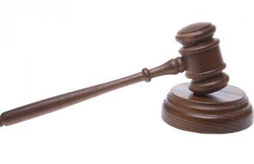 Tuomari julisti päätöksensä.