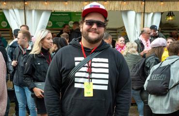 Kalle Lamberg Ruisrockissa