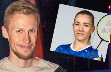 Roni Bäck ja Airi Mikkelä
