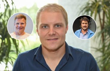 Valtteri Bottas järjesti synttärit.