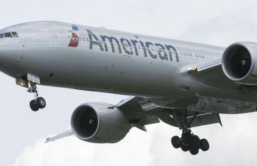 American Airlinesin lennolla nähtiin erikoinen matkustaja.