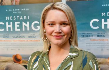 Anna-Maija Tuokko näytteli humalassa.