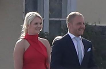 Emilia ja Valtteri Bottas.