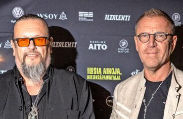 Markus Selin ja Renny Harlin