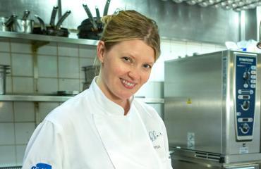 Pipsa Hurmerinta on keittiömestari.