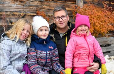 Jani Sievinen ikävöi lapsiaan.